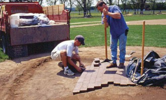 Provides maximum protection from a solid, larger-sized brick