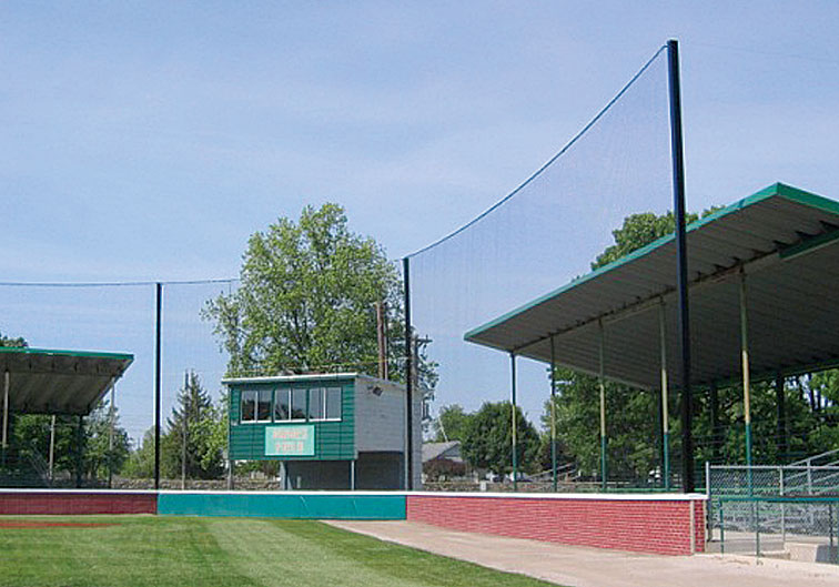 In-Line Net Backstop System