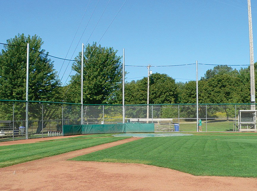 Partial Net Backstop System