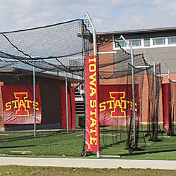 Outdoor Batting Cage Tensioned Cage Modular Cage