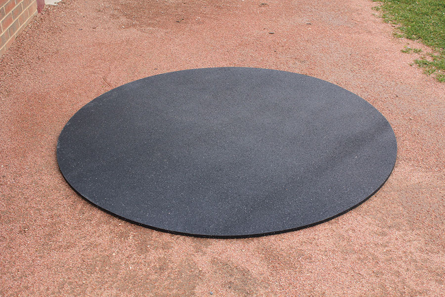 On Deck Circles Recycled Rubber