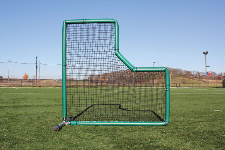 Pitcher's L Screen with Padding