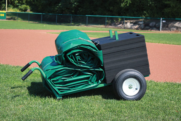 Tarp Cart with Field Weights (tarps sold separately)