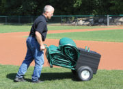 Tarp Cart System with Field Weights