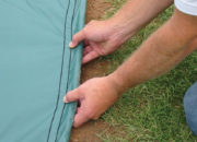 FieldShield weighted hem detail