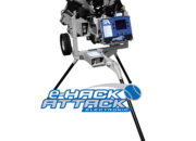 """""""e-Hack Attack"""" back of pitching machine"""
