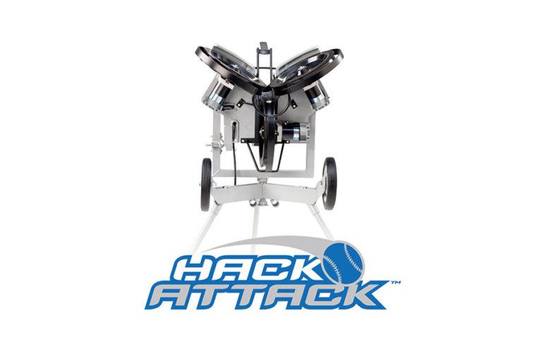 junior hack attack baseball pitching machine