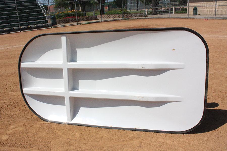 Portable Pitching Mound | Game Mound | 8-inch