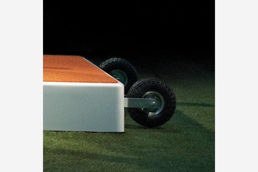 Pitch Pro 8 Quot Wheel Kit Beacon Athletics