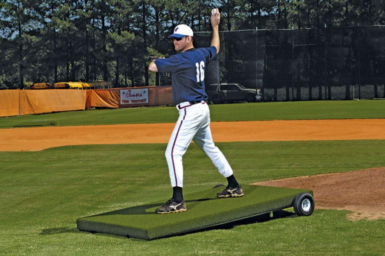 Proper Pitch Batting Practice Platform Mound
