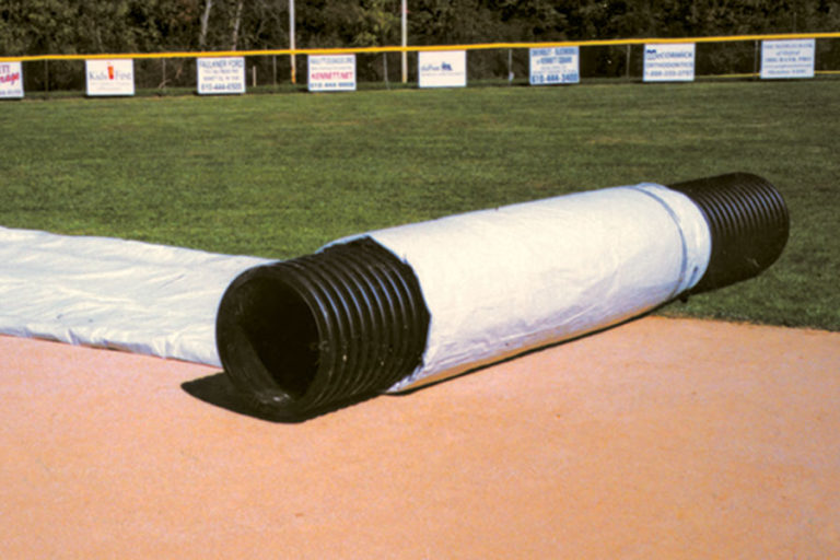 Tarp Tube Storage Rollers