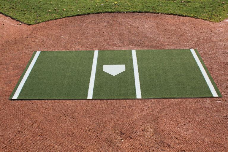 Hitting mat green