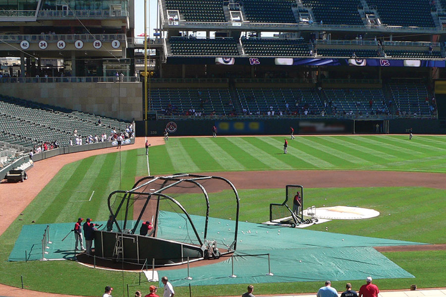 Infield Turf Protector Batting Practice Turf Protector
