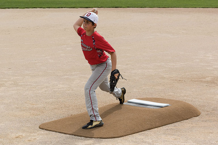 Pitch Pro 486 6in portable game mound