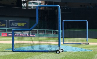 TUFFScreen Padding on Pitcher's L and 8 x 8 Fungo