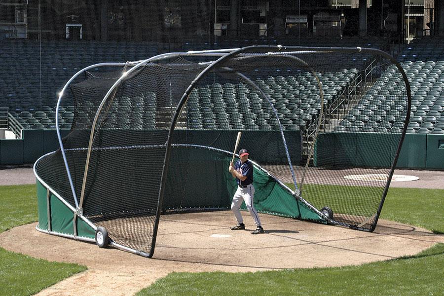 Batting Practice | Big Bubba Portable Backstop