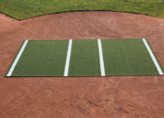 Pro-Model Hitting Mat no flocked home plate