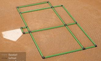 Triple Play Batter's Box Template