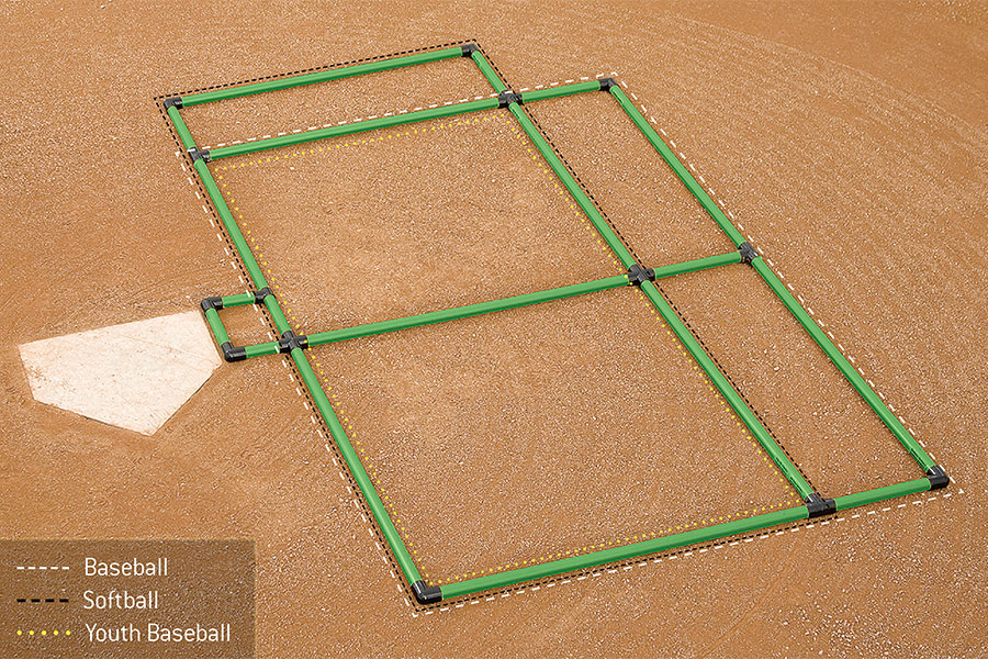 Field Marking | Batter\'s Box Template 3-Way