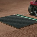 Cocoa mat shown with leveling bar