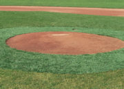 Pitcher's mound halo