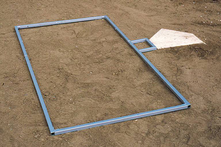 Deluxe Adjustable Batter's Box Template