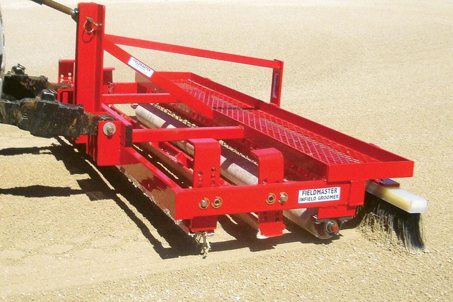 Baseball Tractor Drag : Fieldmaster scarifier finish grooming