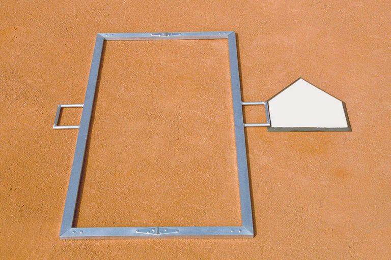 Foldable Batters Box Template