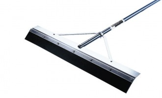 Excellent for pushing and pulling liquids off hard surfaces