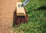 Lip Broom for field maintenance