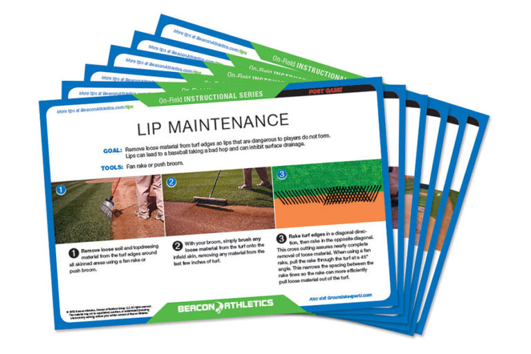 The perfect companion to our online field maintenance training resource, Groundskeeper U