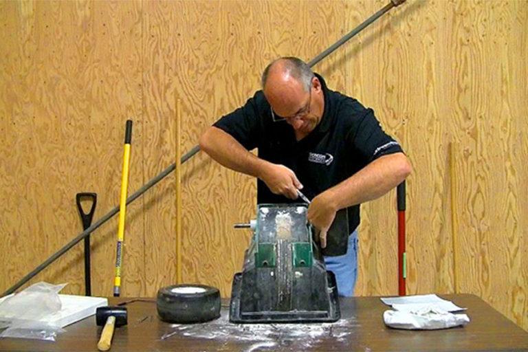 Refurbishing kit demonstration