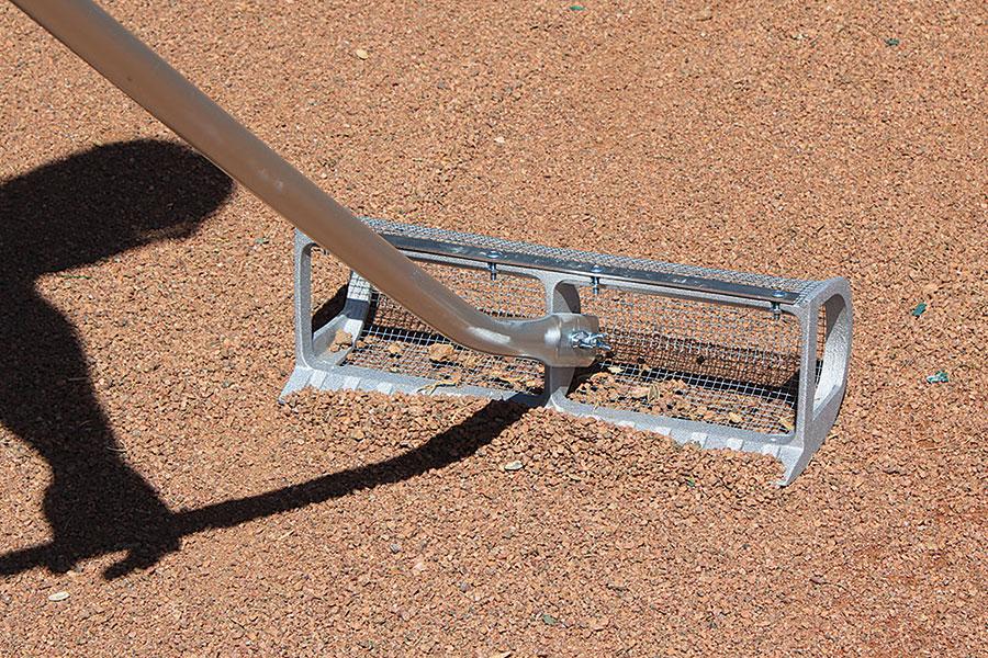Sand Comb Steel Mesh Sifting Rake Sand Rake