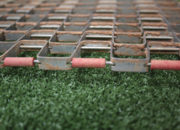 24″ x 18″ steel mat drag