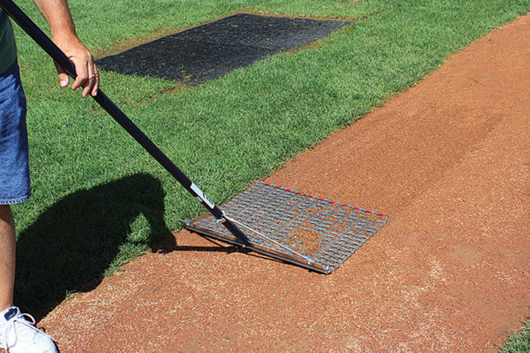 Designed for grooming small areas like the mound and baselines