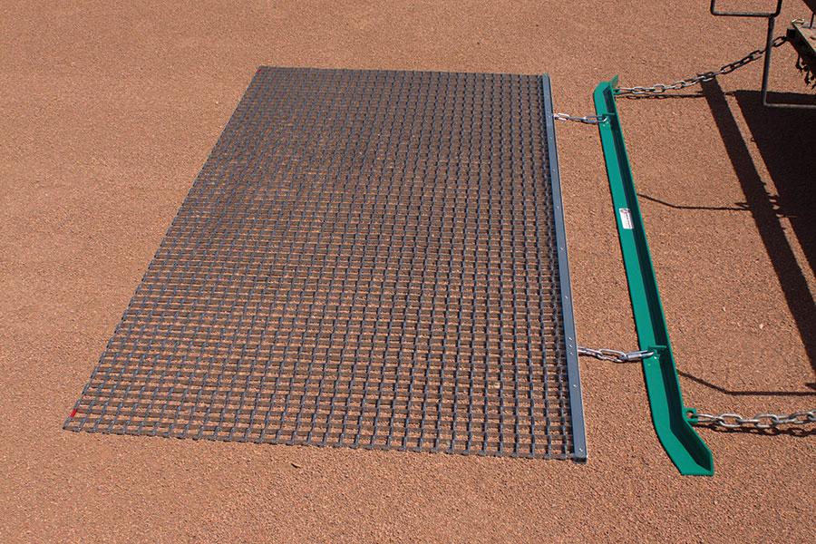 Steel Mat Infield Drag