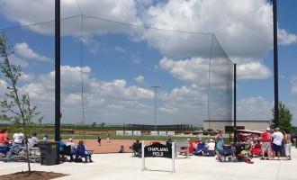 Beacon Tie-back Net Backstop - Chaplain's Field, Fremont, NE
