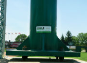 Pre-assembled support poles speed installation and ensure structural integrity.