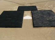 A set of five mats will cover both batter's boxes and the catcher's box