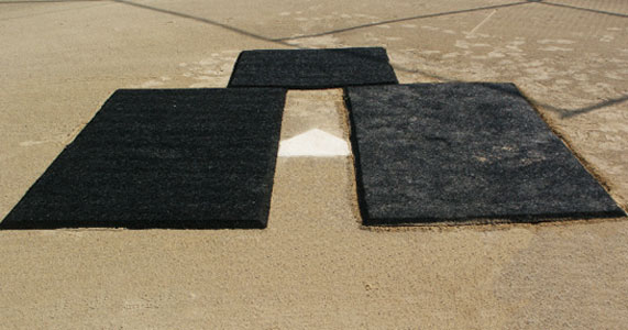 Batter S Box Fortification Reinforcement Rubber Mat