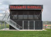 Bleacher Wrap Cedarburg Baseball