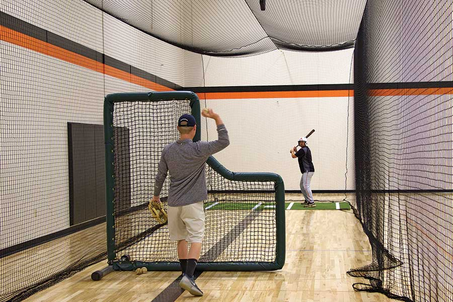 Phantom Indoor Batting Cage Tensioned Hitting Tunnel