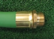 Long shank machined brass fittings