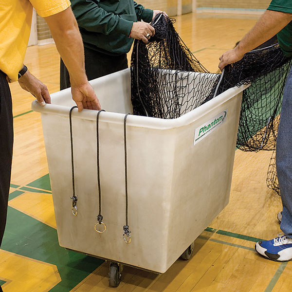 Phantom™ Cage Storage Cart. When the cage needs to be completely taken down and stored.