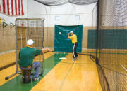 Net Protector. Reduce wear on the cage net.