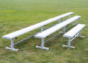 All-Aluminum Team Bench without backrests