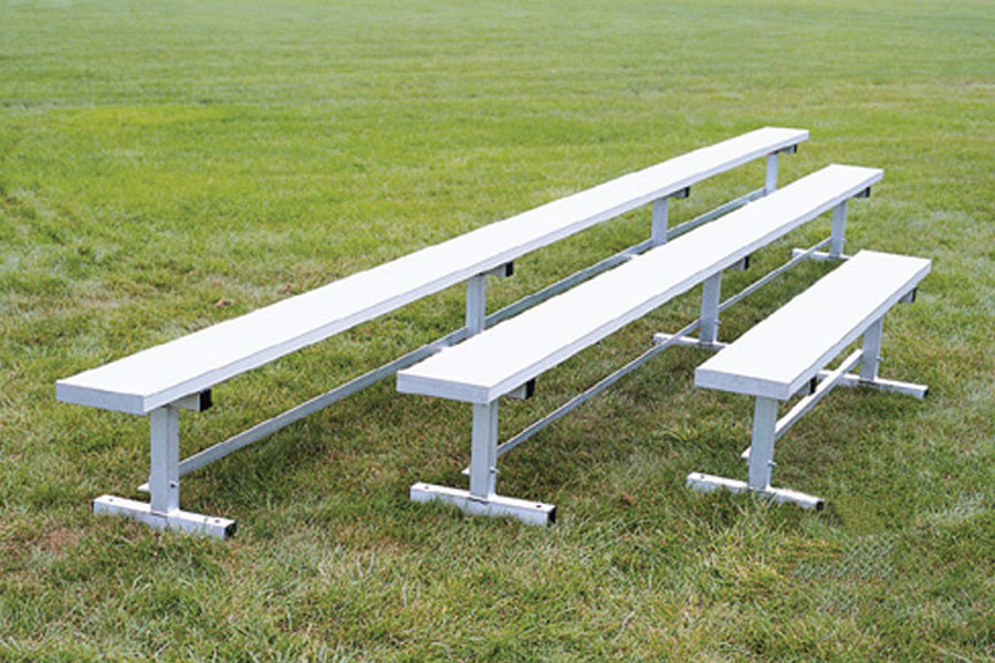 All aluminum team benches beacon athletics store Aluminum benches