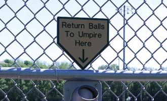 """""""Return Balls to Umpire Here"""""""
