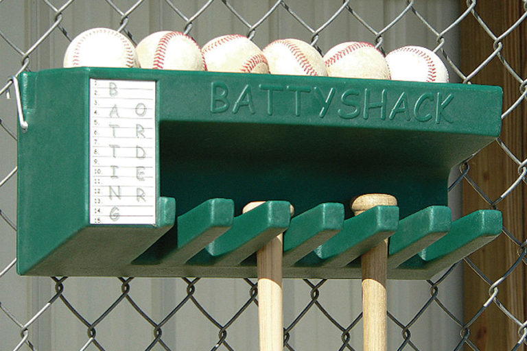 Battyshack bat and ball holder