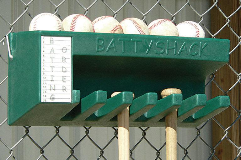 Battyshack bat and ball holder